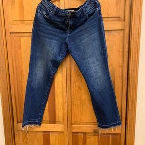 Jut from the Kloth jeans